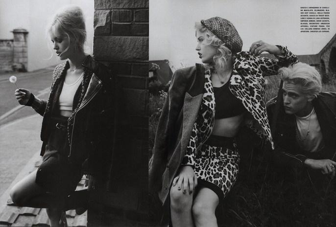 2009, bw, Georgia May Jagger, Models, Photographers, Photographers, Tim Walker, Vogue Italia, Vogue Italia, August