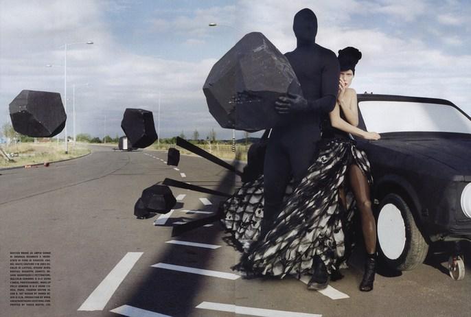 2010, Models, Models, Malgosia Bella, Photographers, Photographers, Tim Walker, shona heath, supplement, Vogue Italia, Vogue Italia, September