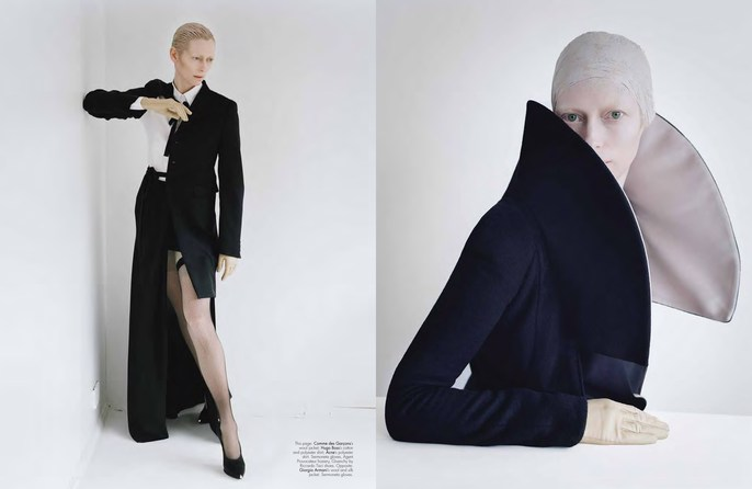 2011, actress, celeb, Photographers, Photographers, Tim Walker, tilda swinton, W Magazine, W Magazine, August