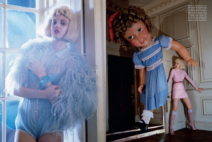 2012, Lindsey Wixson, Models, Photographers, Photographers, Tim Walker, Vogue Italia, Vogue Italia, January