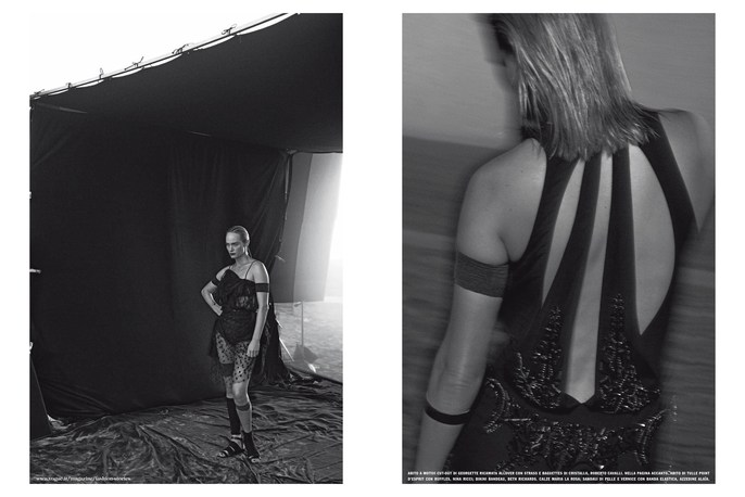 2013, amber valetta, Models, Peter Lindbergh, Photographers, Vogue Italia, Vogue Italia, February