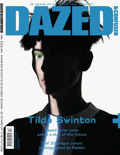 2011, celeb, cover, Dazed & Confused, Photographers, Photographers, Rankin, tilda swinton
