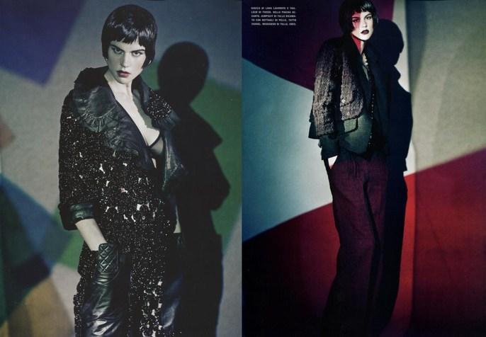 2011, Models, Models, Saskia de Brauw, Photographers, Photographers, Paolo Roversi, Vogue Italia, Vogue Italia, October