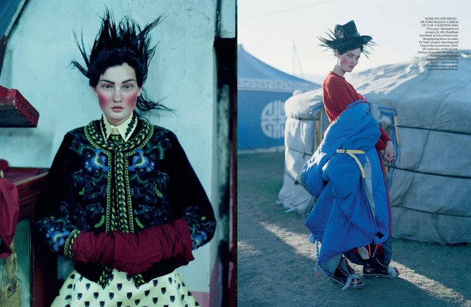 2011, Kirsi Pyrhonen, Models, Photographers, Photographers, Tim Walker, Vogue UK, Vogue UK, December