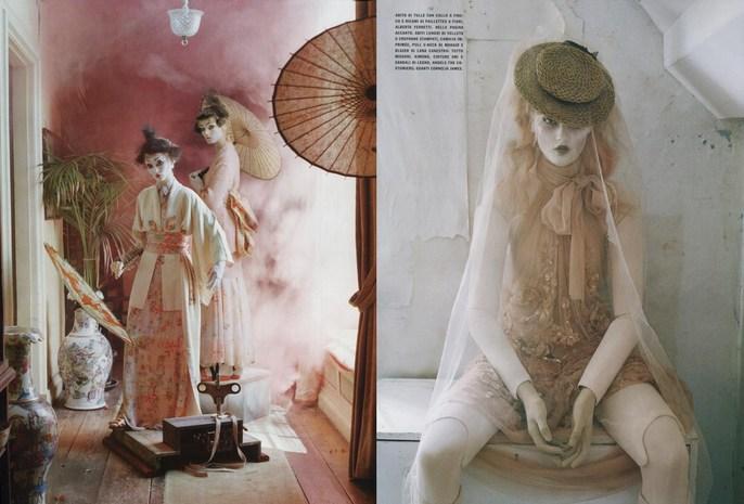 2011, Audrey Marnay, Kirsi Pyrhonen, Models, Photographers, Photographers, Tim Walker, Vogue Italia, Vogue Italia, October