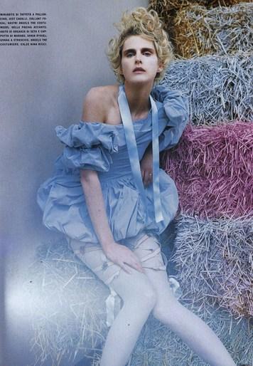 2007, Vogue Italia, August, Vogue Italia