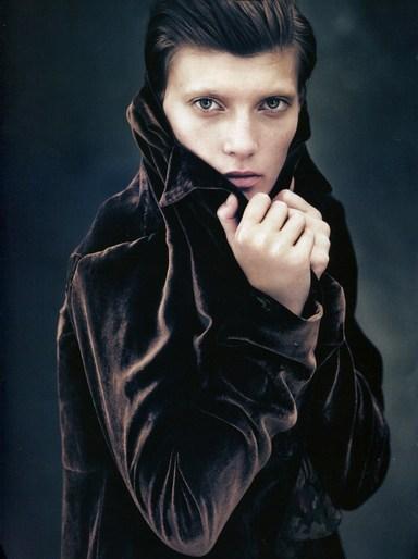 2010, Models, Models, Valerija Kelava, Photographers, Photographers, Paolo Roversi, Vogue Italia, Vogue Italia, October
