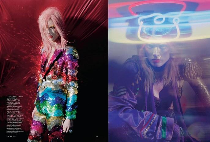 2012, Models, Models, Malgosia Bella, Photographers, Photographers, Tim Walker, Vogue UK, Vogue UK, December