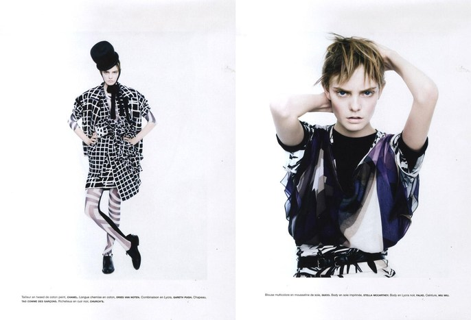 2009, Models, Models, Nimue Smit, Numero, Numero, March, Photographers, Photographers, Paolo Roversi