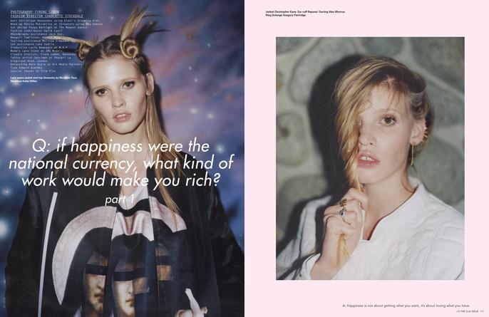 2013, i-D Magazine, Lara Stone, Models, Photographers, Photographers, Tyrone Lebon