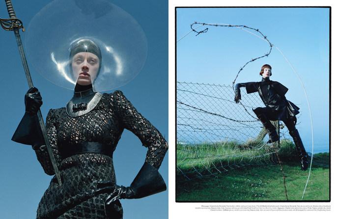 2012, Kristen McMenamy, Models, Photographers, Photographers, Tim Walker, W Magazine, W Magazine, September