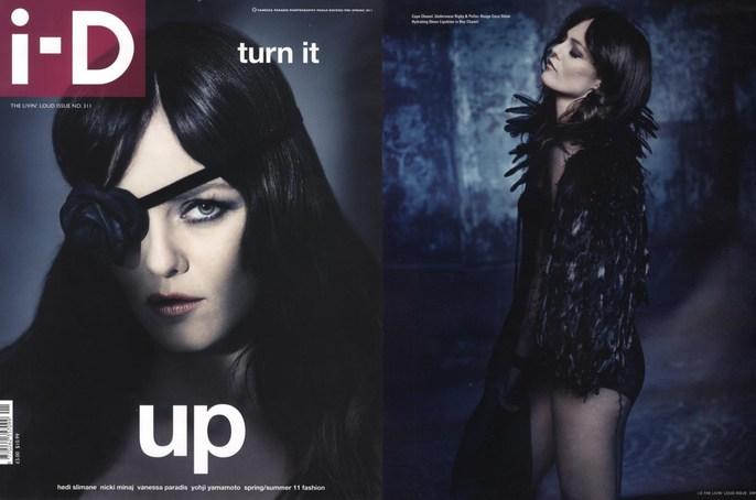 2011, celeb, Celebrities, Celebrities, Vanessa Paradis, cover, i-D Magazine, Photographers, Photographers, Paolo Roversi, Vanessa Paradis
