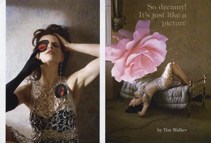 2010, Guinevere Van Seenus, Models, Photographers, Photographers, Tim Walker, Vogue Italia, Vogue Italia, March