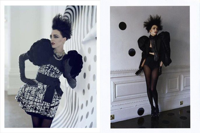 2009, dots, Hannelore Knuts, Models, Photographers, Photographers, Tim Walker, Vogue Italia, Vogue Italia, September