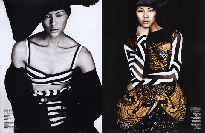 2009, asian, Photographers, Photographers, Josh Olins, Vogue China, Vogue China, June