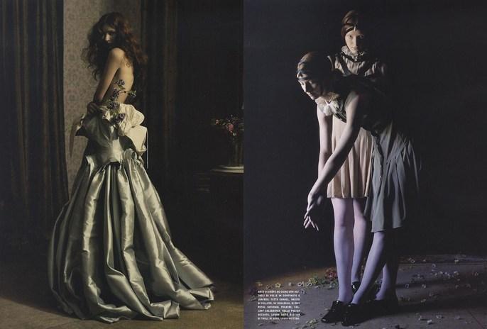 2008, Models, Models, Sunniva Stordahl, Photographers, Photographers, Tim Walker, shona heath, Vogue Italia, Vogue Italia, November