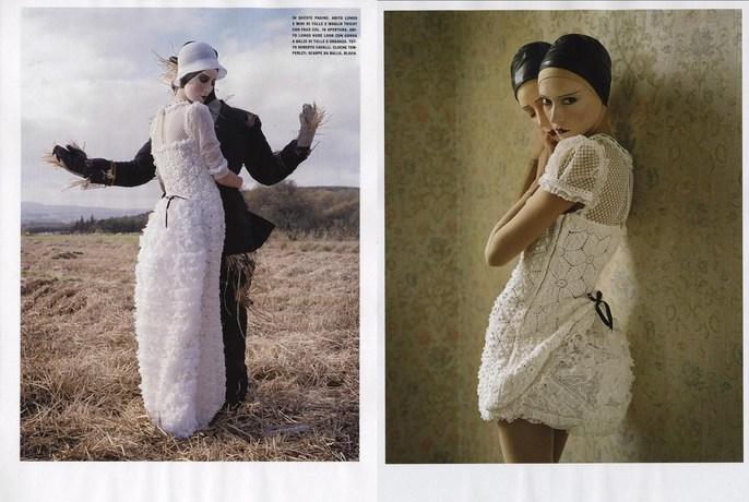 2009, 20s, Christina Carey, Models, Photographers, Photographers, Tim Walker, surreal, Vogue Italia, Vogue Italia, February