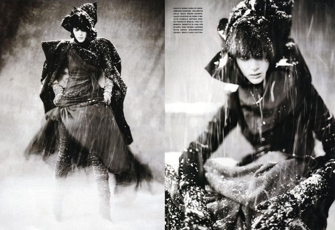 2006, first jacob paolo story, Photographers, Photographers, Paolo Roversi, Vogue Italia, Vogue Italia, November
