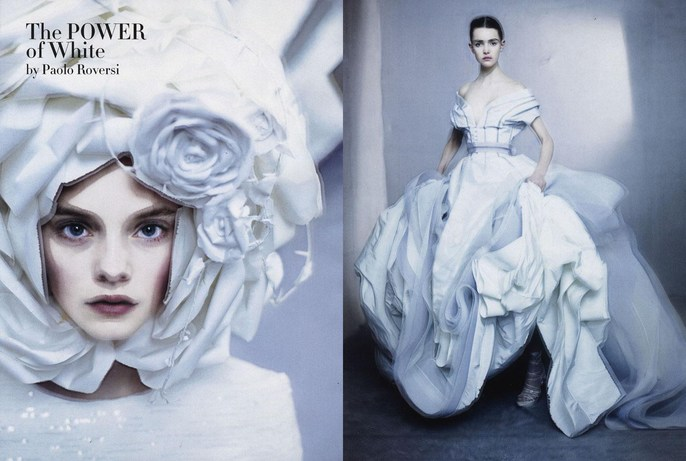 2009, Photographers, Photographers, Paolo Roversi, shona heath, Vogue Italia, Vogue Italia, March, white