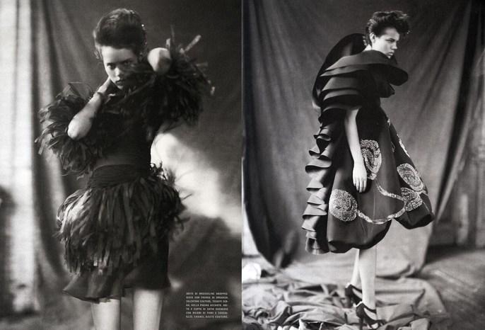 2008, Freja Beha Erichsen, Models, Photographers, Photographers, Paolo Roversi, supplement, Vogue Italia, Vogue Italia, March