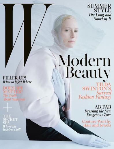 2013, celeb, tilda swinton, W Magazine, W Magazine, May