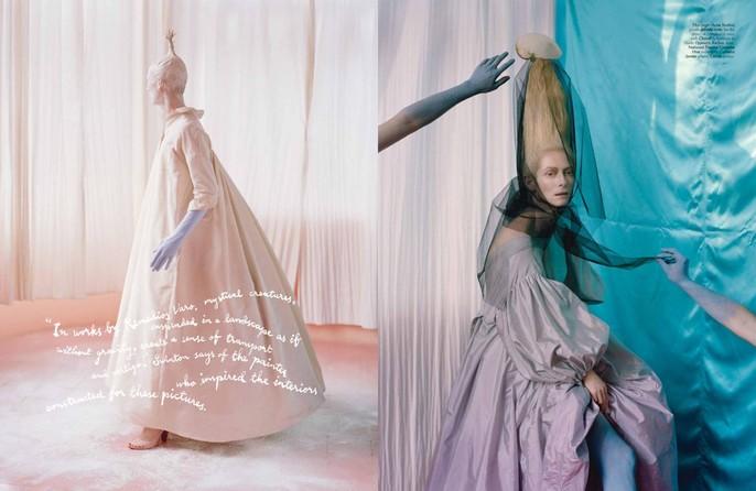 2013, celeb, Photographers, Photographers, Tim Walker, tilda swinton, W Magazine, W Magazine, May