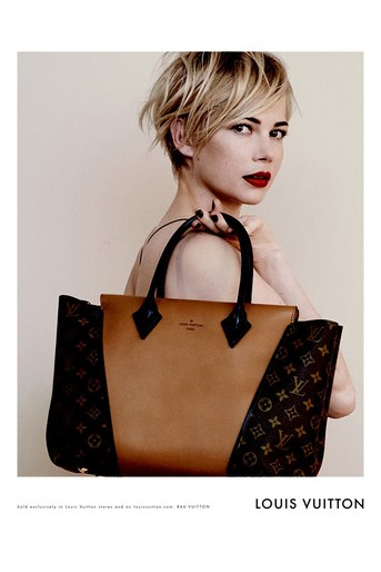 2013, ad, ADVERTISING, autumn/winter, Louis Vuitton, michelle williams, Peter Lindbergh, source: louis vuitton