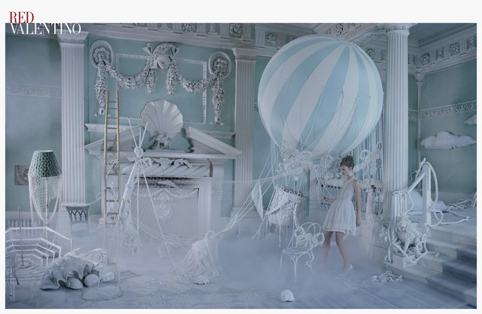 2013, ad, ADVERTISING, Photographers, Tim Walker, red valentino, source: red valentino, Spring / Summer