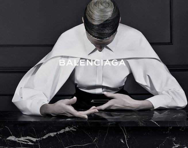 2013, ad, ADVERTISING, autumn/winter, Balenciaga, Kristen McMenamy, Photographers, Steven Meisel, source: balenciaga