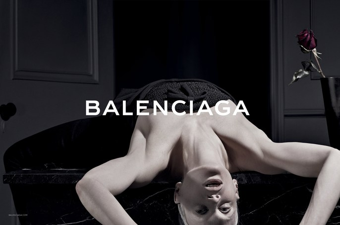 13aw, 2013, ad, autumn/winter, Balenciaga, Kristen McMenamy, Photographers, Steven Klein, source: balenciaga