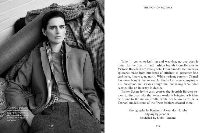Jacob K, stella tennant, The Gentlewoman