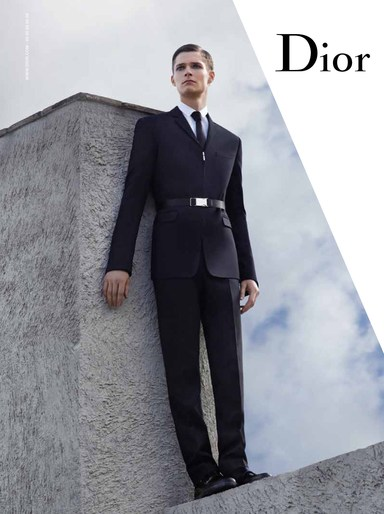 ADVERTISING, Campaign, Dior Homme, FW 2013, Jacob K, source: dior
