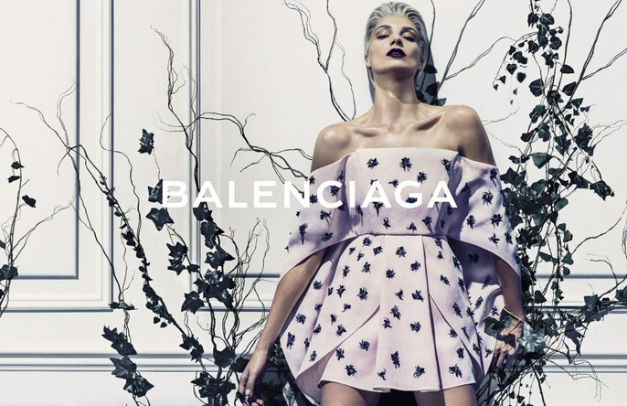 2014, ad, ADVERTISING, Balenciaga, Daria Werbowy, Photographers, Steven Klein, Spring / Summer, ss14