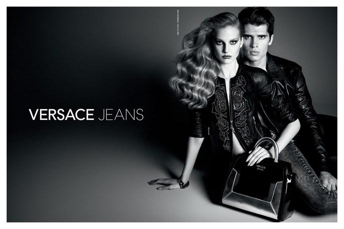 Luigi & Iango, Luigi Murenu, Patti Wilson, source: Versace Jeans, ss 2014, styling, versace jeans