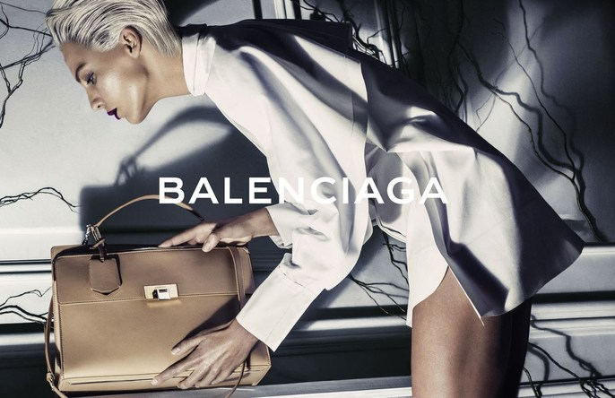 14ss, 2014, ad, ADVERTISING, Balenciaga, Daria Werbowy, Photographers, Steven Klein