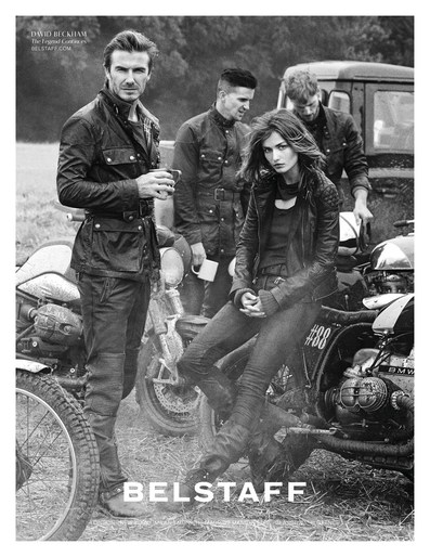 2014, ad, ADVERTISING, Belstaff, celeb, Celebrity, david beckham, Peter Lindbergh, source: belstaff, Spring / Summer