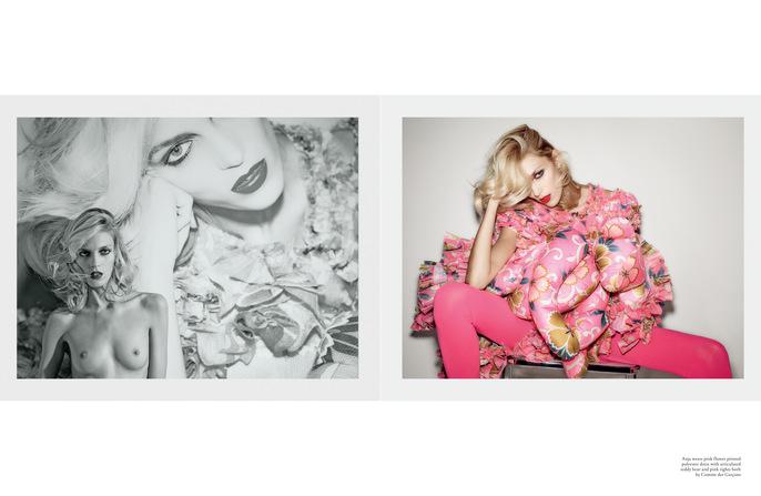 2014, Anja Rubik, Jacob K, LOVE, Models, ss14