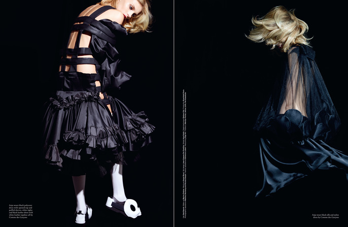 2014, Anja Rubik, Jacob K, LOVE, Models, Spring/Summer, ss14