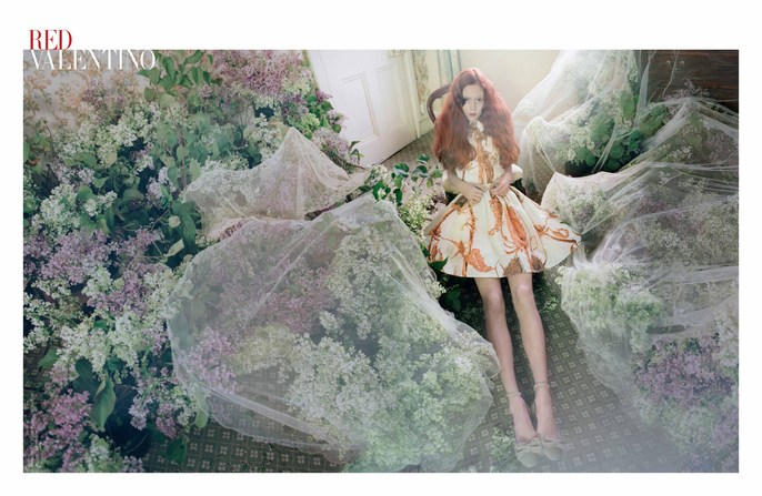 2014, ad, ADVERTISING, Photographers, Tim Walker, red valentino, source: red valentino