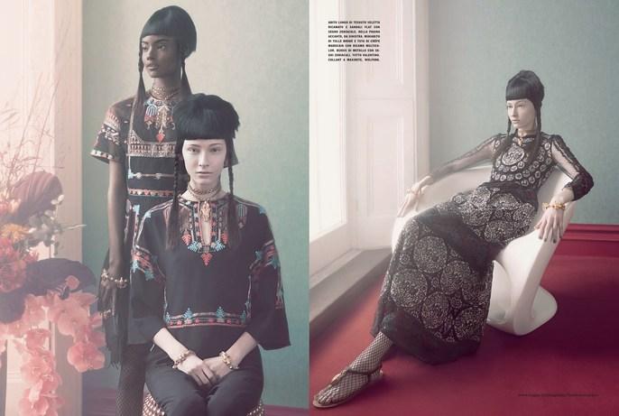Andy Hillman, Marian Newman, Patti Wilson, Vogue Italia