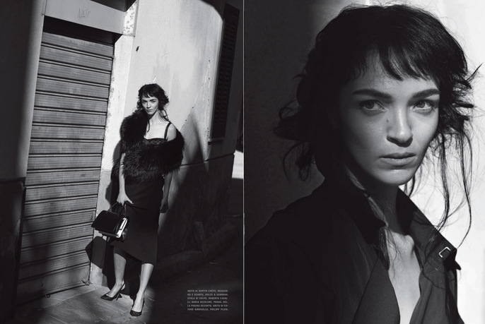 1402, 2014, February, MARIACARLA BOSCONO, Models, Peter Lindbergh, Photographers, Vogue Italia
