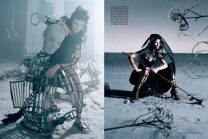 1403, Jacob K, Malcolm edwards, Val Garland, Vogue Italia