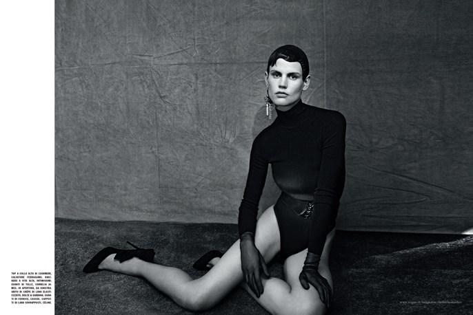 Jacob K, Vogue Italia, Saskia de Brauw, Paolo Roversi, July 2014