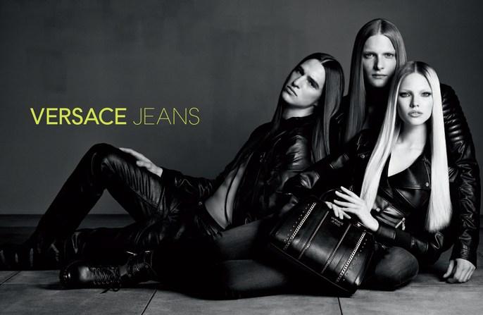 hair, Luigi & Iango, Luigi Murenu, Patti Wilson, photography, source: Versace Jeans, styling, versace jeans