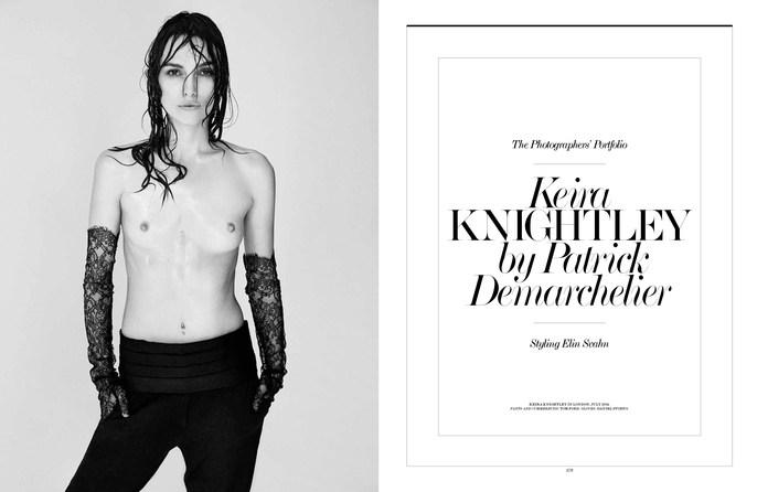 Elin Svahn, Interview, keira knightley, martin cullen, Patrick Demarchelier, Petros Petrohilos, September 2014