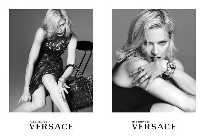 ADVERTISING, Versace, madonna, Spring/Summer, Mert Alas & Marcus Piggott, 2015