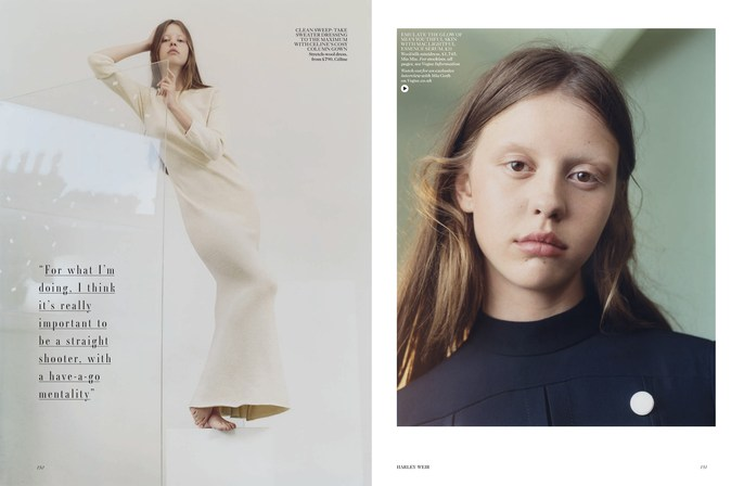 Emma Roach, hair, January 2015, makeup, natural wonder, Petros Petrohilos, set design, Tina Outen, Vogue UK