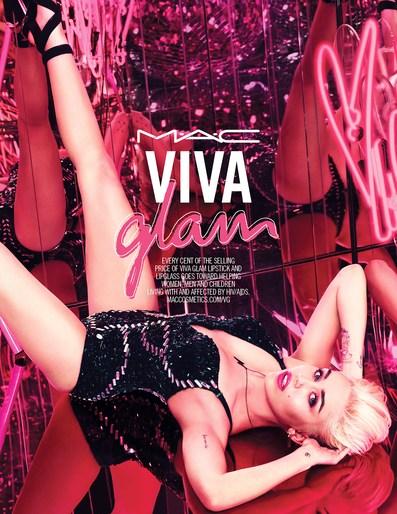 Celebrities, lucia pieroni, mac viva glam, makeup, Mert Alas & Marcus Piggott, Miley Cyrus, Patti Wilson, Photographers, source: mac viva glam, SS 2015, styling