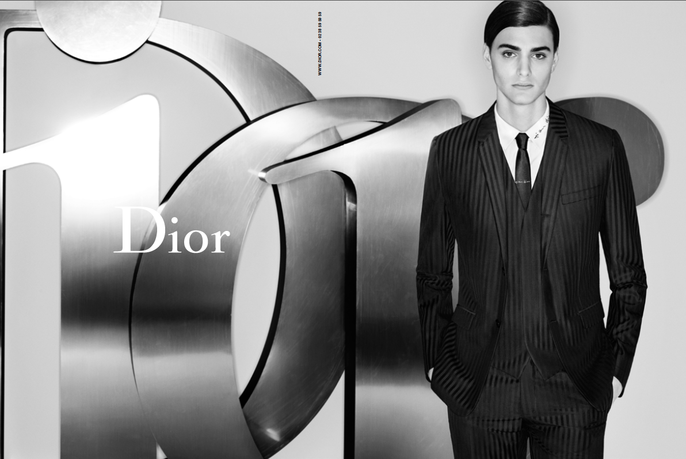ADVERTISING, Dior Homme, karl lagerfeld, Spring/Summer, source: Dior Homme, 2015