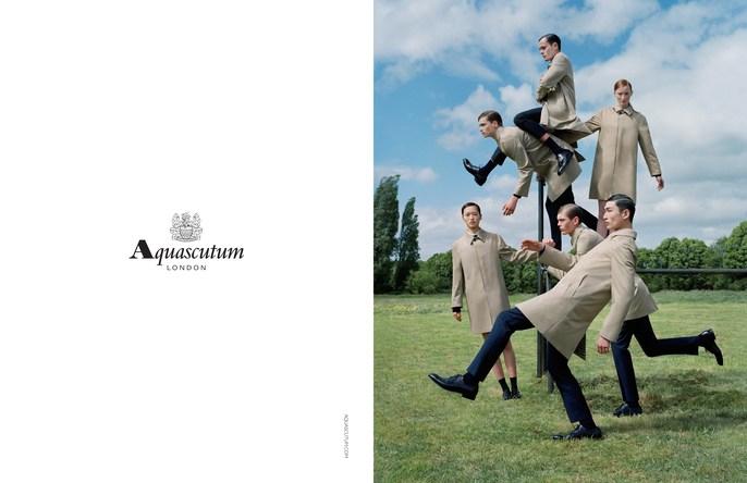 ADVERTISING, Aquascutum, tim walker, Fall 2015, source: Aquascutum AW15